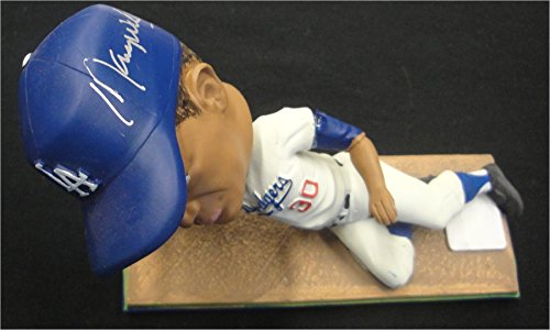 Maury Wills Hand Signed Autographed Major League Bobble Head LA Dodgers With Box