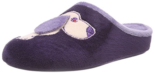 Florett Damen Violett Nancy Violett Pantoffeln S1Szq