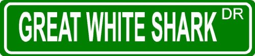 (GREAT WHITE SHARK Green 4