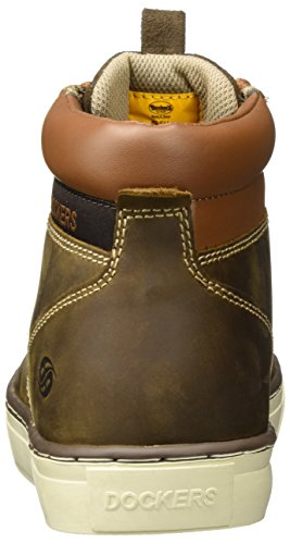 Marrone Uomo Cafe Gerli by a 33ec010 Dockers 400320 Sneaker Collo Alto nO8W4z6