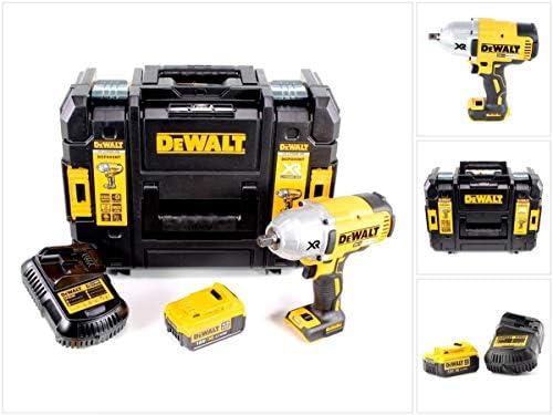 DeWalt DCF 899 M1 18 V atornillador Brushless 950 nm 1/2 en Tstak Caja + 1 x DCB 182 4,0 Ah Batería + DCB 105 Cargador: Amazon.es: Bricolaje y herramientas