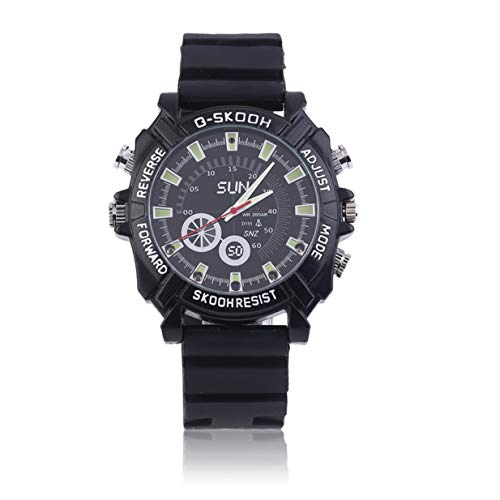 Hd Waterproof Spy Watch Camera Camcorder 8Gb - 6