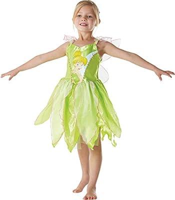 Peter Pan - Disfraz de Hada Campanilla clásico para niña, infantil ...