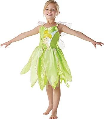 Peter Pan - Disfraz de Hada Campanilla clásico para niña, infantil 5-6 años (Rubies 881868-M)