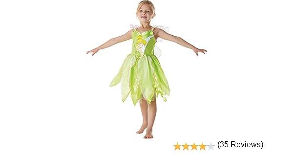 Rubie`s 881868-S - Disfraz infantil de Campanilla clásico, talla S (3-4 años): Amazon.es: Juguetes y juegos