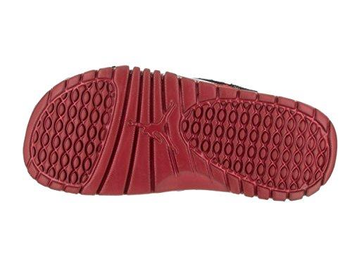 7aeb54ba3a1fd6 Nike Jordan Youth Hydro XII Retro BG Slides Sandals-Black Gym Red-7 ...