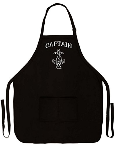 Captain Nautical Grilling Cooking Sailing