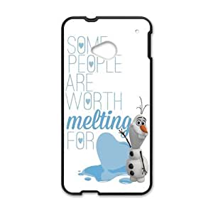 Happy Disney Frozen Snowman Olaf Cell Phone Case for HTC One M7