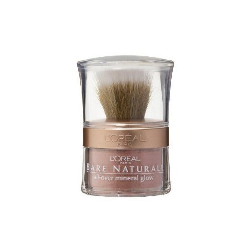 Loreal Bare Naturale Mineral Makeup - L'oreal Paris True Match Naturale All-over Mineral Glow, Rose Glow, 0.15 Ounc...