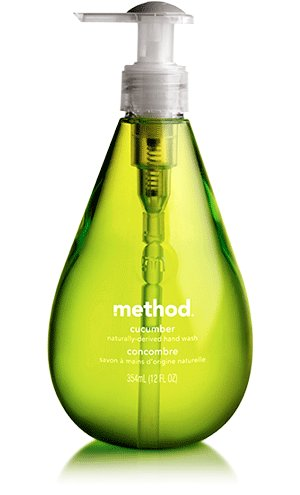 Method - Gel Hand Wash Cucumber - 12 fl. oz.