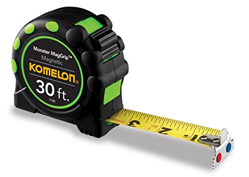 Komelon 7130 Monster MagGrip 30-Feet Measuring Tape with Magnetic ()