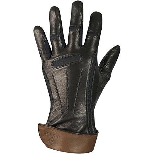 負担昇る急流Bionic手袋レディース冬ナチュラルフィット手袋ブラックSmall