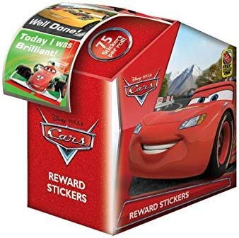 COLLECTORS, REWARDS KIDS STICKERS IDEAL FOR PARTIES SCHOOLS CARS 1 X 75 STICKERS IN A DISPENSER