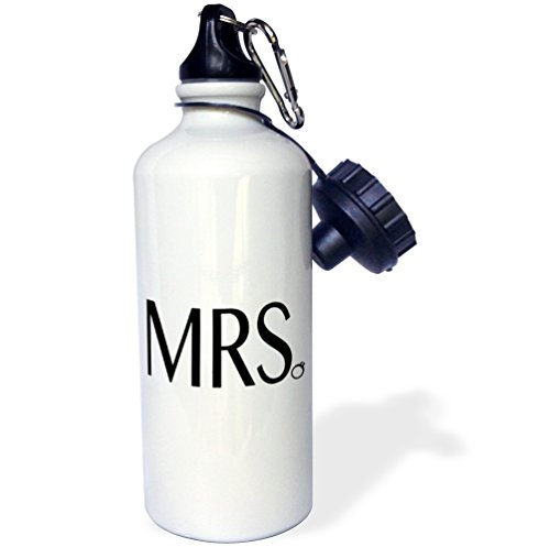 3dRose wb 186247 1 Bride Sports Bottle