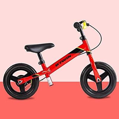 XIAOPING Bicicleta De Equilibrio De 12 Pulgadas, Bicicleta De Entrenamiento For Caminar For Niños, Niñas, Niños
