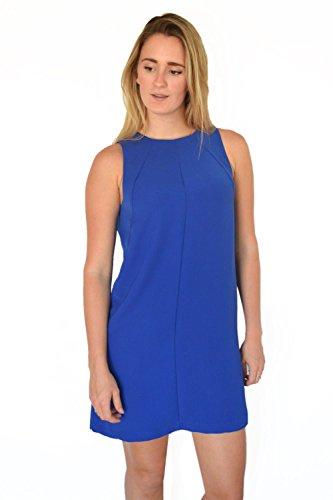 Seamed Shift Dress (Warehouse Blue Seamed Shift Dress Size 8)