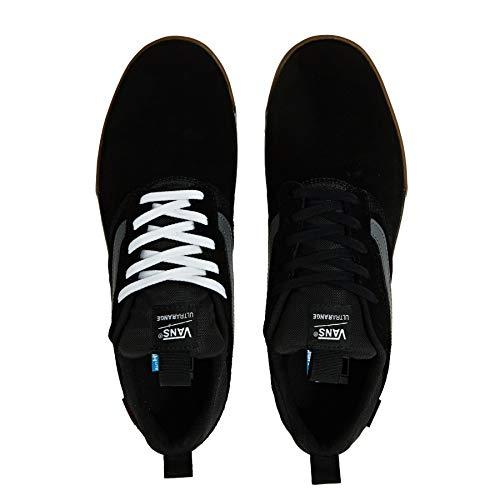 Black White Vans Black gum Pro white Gum Ultrarange q77E6