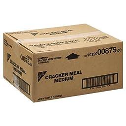 Cracker Medium Meal Cracker Crumbs 25 Pound
