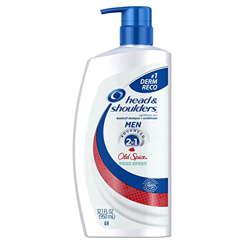Head Shoulders Anti Dandruff Shampoo (Head and Shoulders Old Spice 2-in-1 Anti-Dandruff Shampoo + Conditioner 32.1 Fl Oz (Pack of 4))