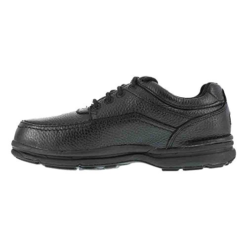 15M RK6761 Tour Rockport World Leather Steel Oxford Black Toe Shoe zxT1pxqRd