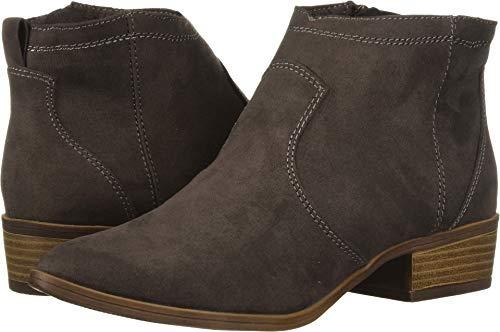 DV by Dolce Vita Women's JURYY Ankle Boot, Granite Stella Suede, 7.5 M US
