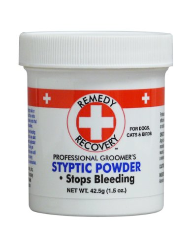 DOGSWELL Remedy+Recovery Styptic Blood Stopper Powder for Dogs & Cats 1.5 oz. Container