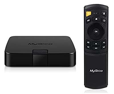 MyGica ATV 495 PRO Quad Core Android TV Box and Streaming Media Player with KODI 2GB/16GB/4K/AC Wireless KR-41 Remote Control