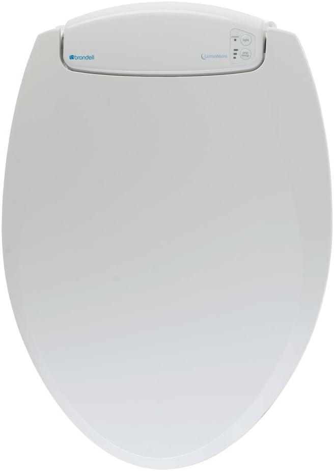#4 Brondell LumaWarm Heated Nightlight Toilet Seat