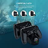 PS4 Controller Charging Station, YCCTEAM Dual
