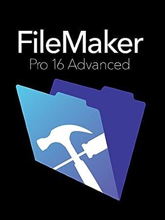 FileMaker Pro 16 Advanced Education Mac/Win Retail Box V16