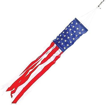 AMERICAN FLAG WINDSOCK 5 feet long