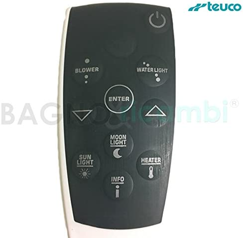 TEUCO Recambio Mando a Distancia para bañeras T07 Seaside 81000963099: Amazon.es: Hogar