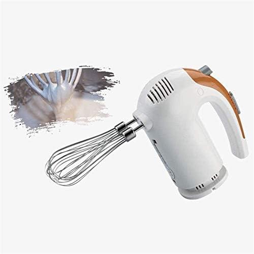 HYL Batteur Électrique de Cuisine Food Collection Professional électrique à main Batteur à main à 5 vitesses Fonction avec Turbo fonction for la cuisson Crème Fabriquer, Blanc