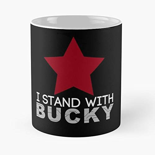 Bucky Barnes The Winter Soldier Captain America Mcu - Morning Coffee Mug Ceramic Best Gift