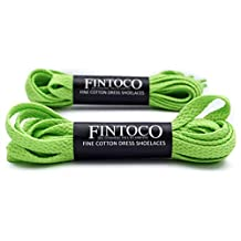 2 Pairs of Flat Athletic Shoelaces - Available in 27, 36, 45, 54 Inch Length