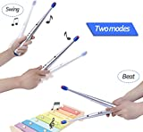 #4: Electronic Drum Sticks for Kids ,1 Pair Lightweight Rhythm Drumsticks BackGround Musical Party Gimmick Kid Toy Christmas Gift