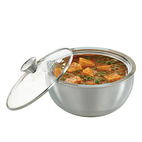 Borosil Stainless Steel Insulated Curry Server, 1.5 Litres, Silver (B07F43WXSK) Amazon Price History, Amazon Price Tracker