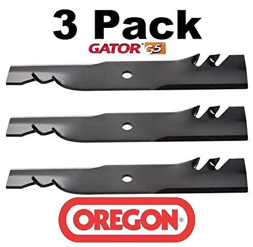 Oregon 596-327 Pack of 3 Gator Mulching Blades - 15-1/4