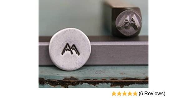 Brand New Supply Guy 5mm Mountains Metal Punch Design Stamp CH-25