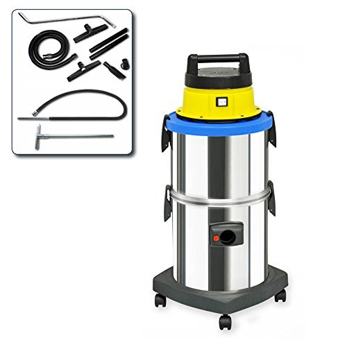 EOLO PROFESSIONAL VACUUM CLEANER FOR SOOT AND HOT ASH + ACCESSORIES KIT LP32 (41 litres) MADE IN ITALY 230 Volts (before order on request 110-120 Volts)