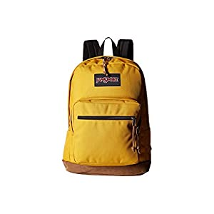 "JanSport Right Pack Laptop Backpack - 15"" (English Mustard)"