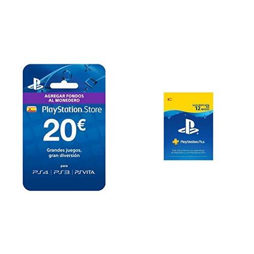 Sony - Tarjeta Prepago 20€ (Código Digital) & Tarjeta PSN ...