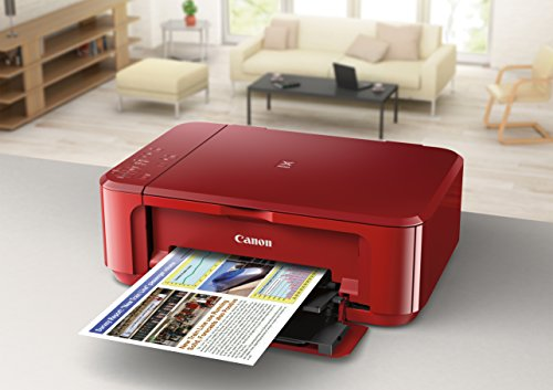 Canon All-In-One Printer with and Printing, Red