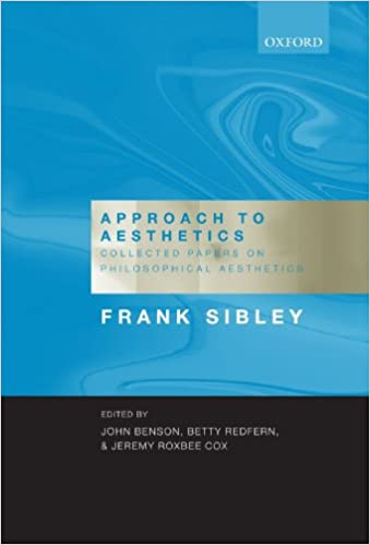 Book Approach to Aesthetics: Collected Papers on Philosophical Aesthetics