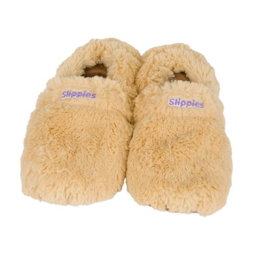 Warmies Slippies Classic/Deluxe Beige