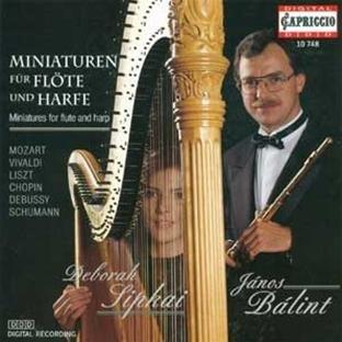 Miniatures for Flute & Harp (Miniaturen für Flöte und Harfe)