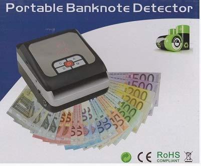081Store Verificatore Banconote False Rileva e conta banconote a batteria professionale