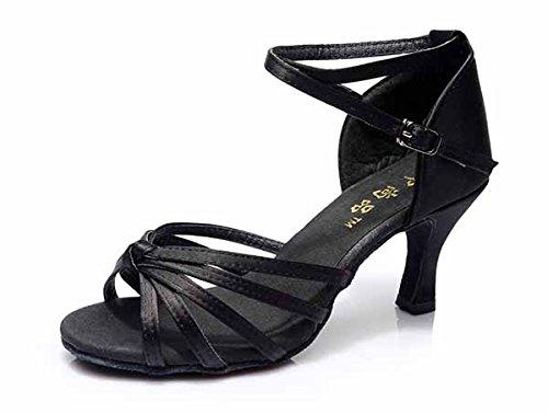 Heel Preto De 5 Cm Yff Tango 1 Room Sapatos Ball 9 Cm Latina Novas 7 E Mulheres Owq5w718x