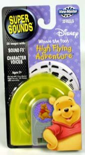 Super Sounds POOH HIGH FLYING ADVENTURE ViewMaster 3 Reel Set
