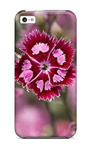 Hot Earth Flower First Grade Tpu Phone Case For Iphone 5c Case Cover